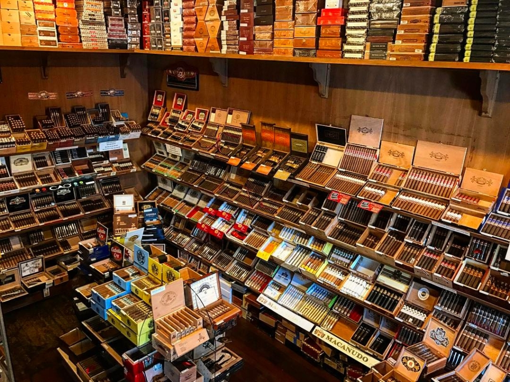 Cigar Humidor at Old Towne Havana in the Orange Circle